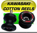 Kawasaki cotton reels swingarm protectors