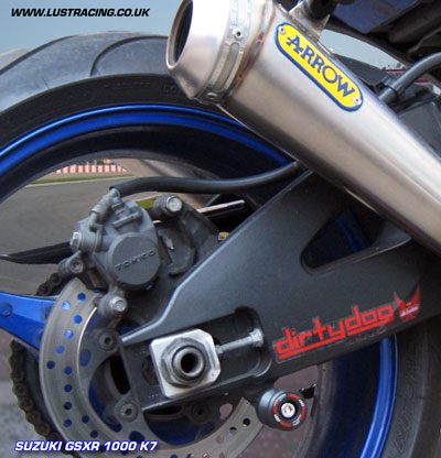 Suzuki Swingarm Protectors M8 Paddock Stand Bobbins