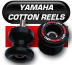 Yamaha swingarm protectors - swingarm spools - cotton reels