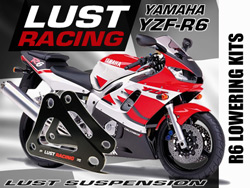 Yamaha R1 Lowering kit 2004,2005,2006 -25mm