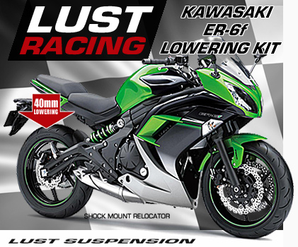 Kawasaki ER6f lowering kit
