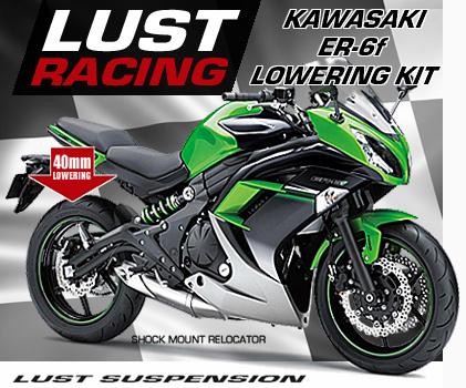 Kawasaki ER6f Lowering Kit ER6n
