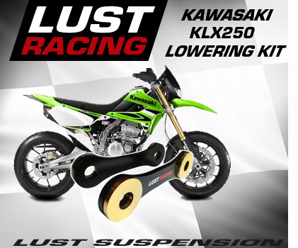 Kawasaki KLX250 lowering kit