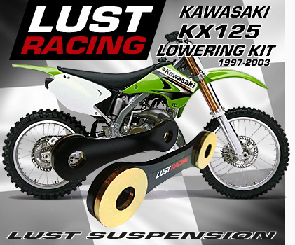 Kawasaki KX125 lowering kit