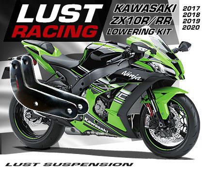 Kawasaki ZX10R / ZX10RR Ninja Lowering kits  2004-2019 ZX10