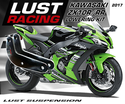 2017 2018 Kawasaki ZX10RR Lowering Kit